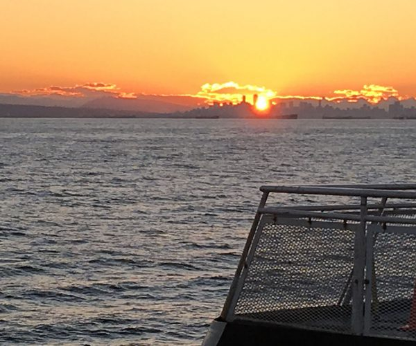 Early morning ferry